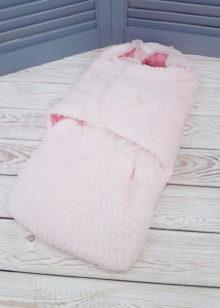 Конверт-кокон (розовый)