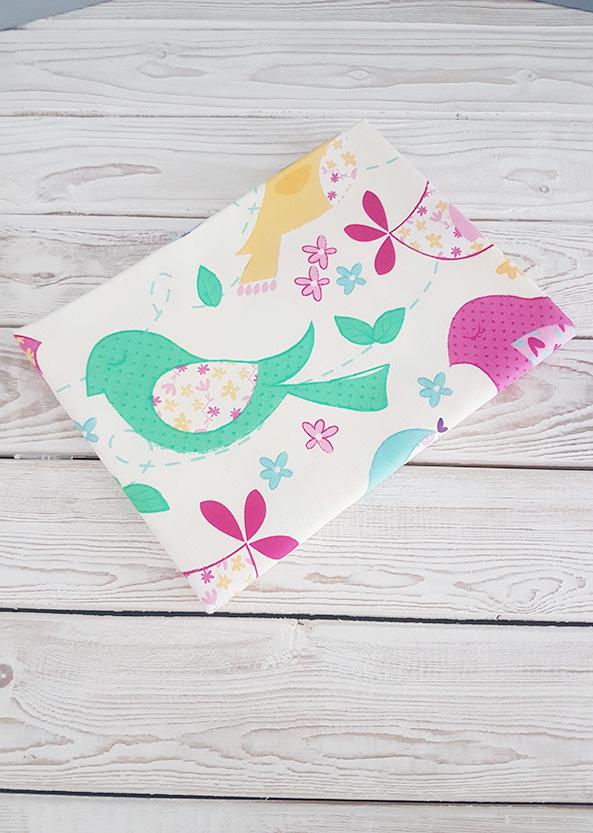 Фланелевая пеленка (птички)