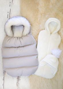 Зимний набор из 3 предметов (серый)