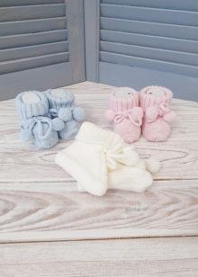 Пинетки для новорожденных (0-6 мес)