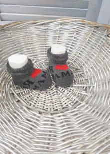 Махровые носочки для новорожденного (0-3 мес)