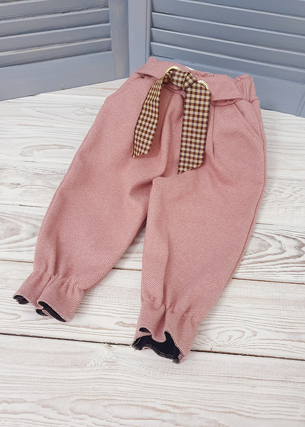 Утепленные брюки для девочки р. 86, 92