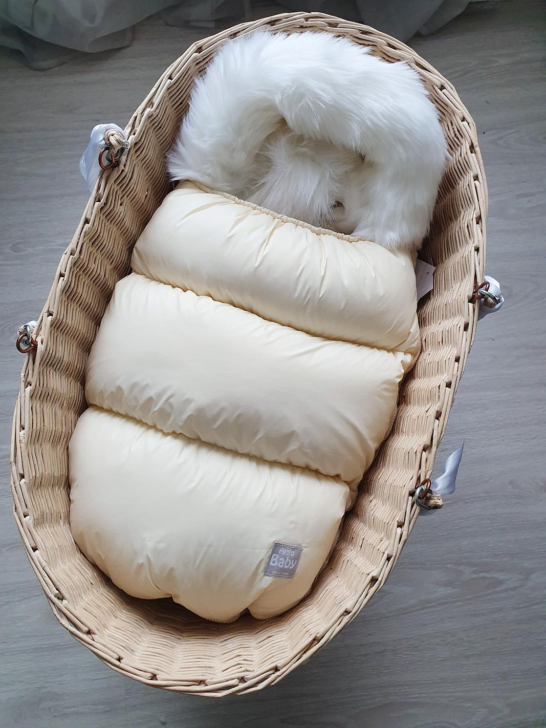 Зимний набор из 3 предметов (молочный)