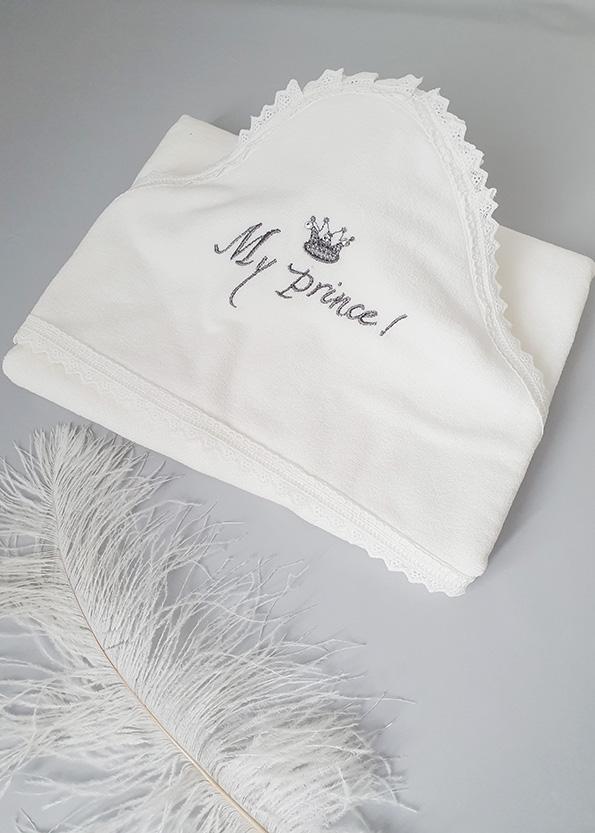 Махровое полотенце с капюшоном «Принц»