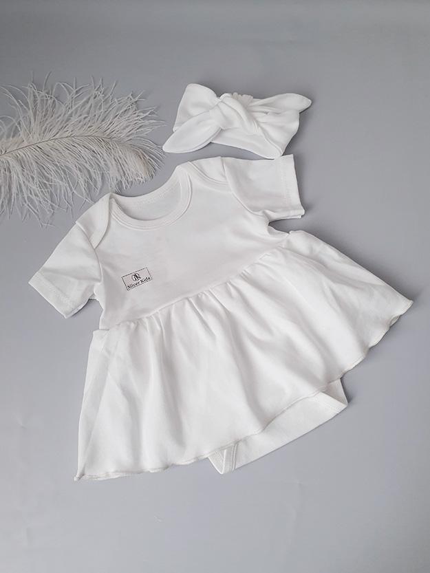 Боди-платье (сахар) р.68