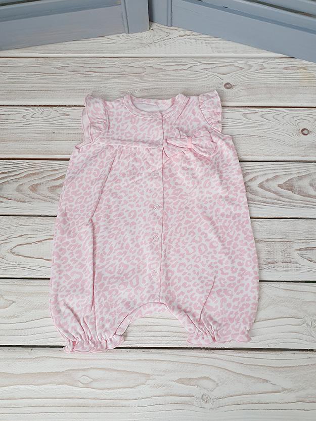 Песочник для девочки розовый р. 62, 68