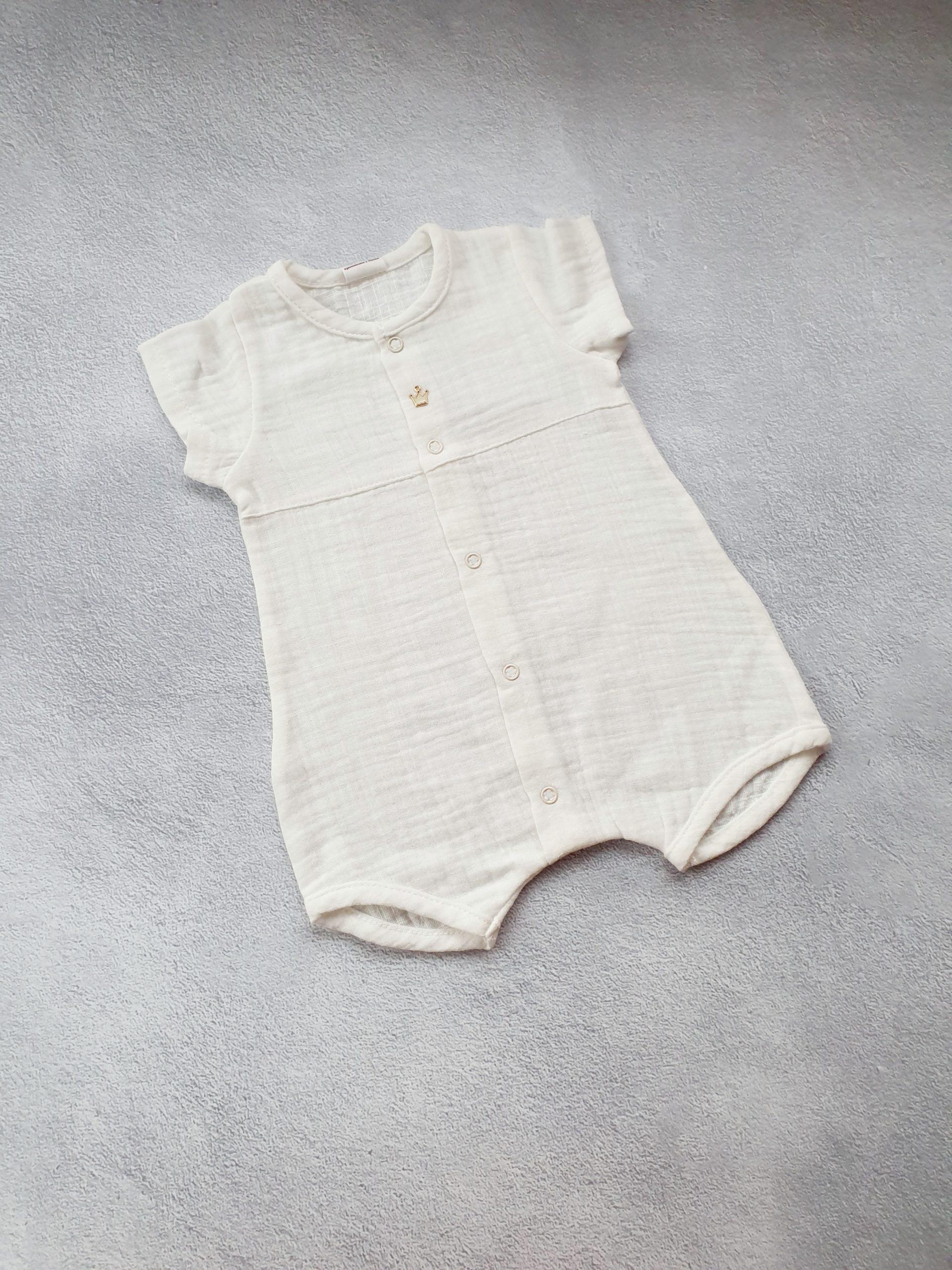 Муслиновый песочник для мальчика р.56, 62